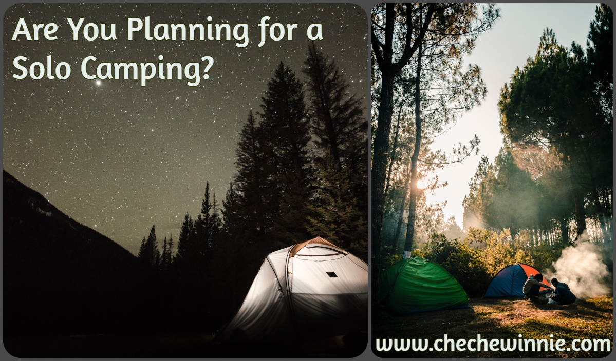 Are You Planning for a Solo Camping?