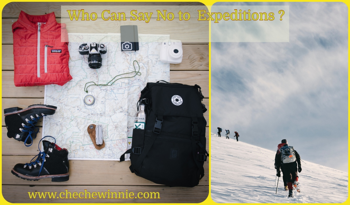 Who Can Say No to  Expeditions?