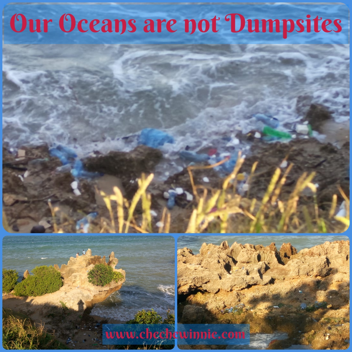 Our Oceans are not Dumpsites