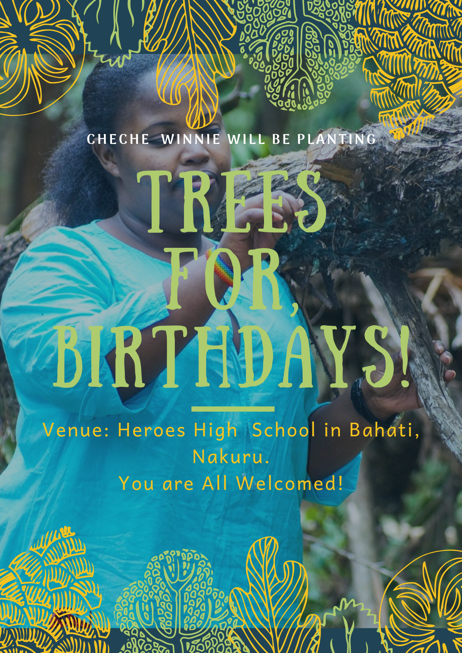 Trees For Birthday