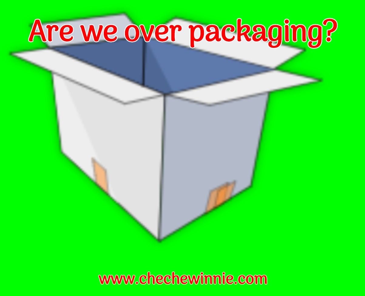 Are we over packaging?