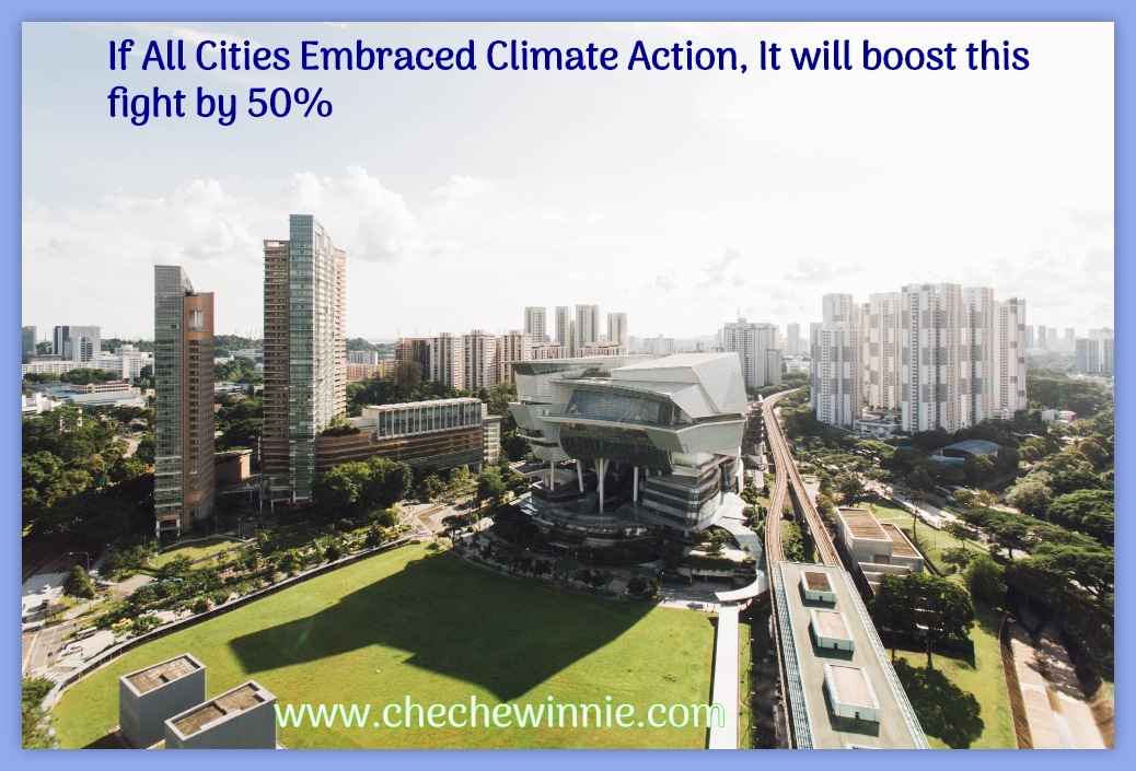 If All Cities Embraced Climate Action, It will boost this fight by 50%