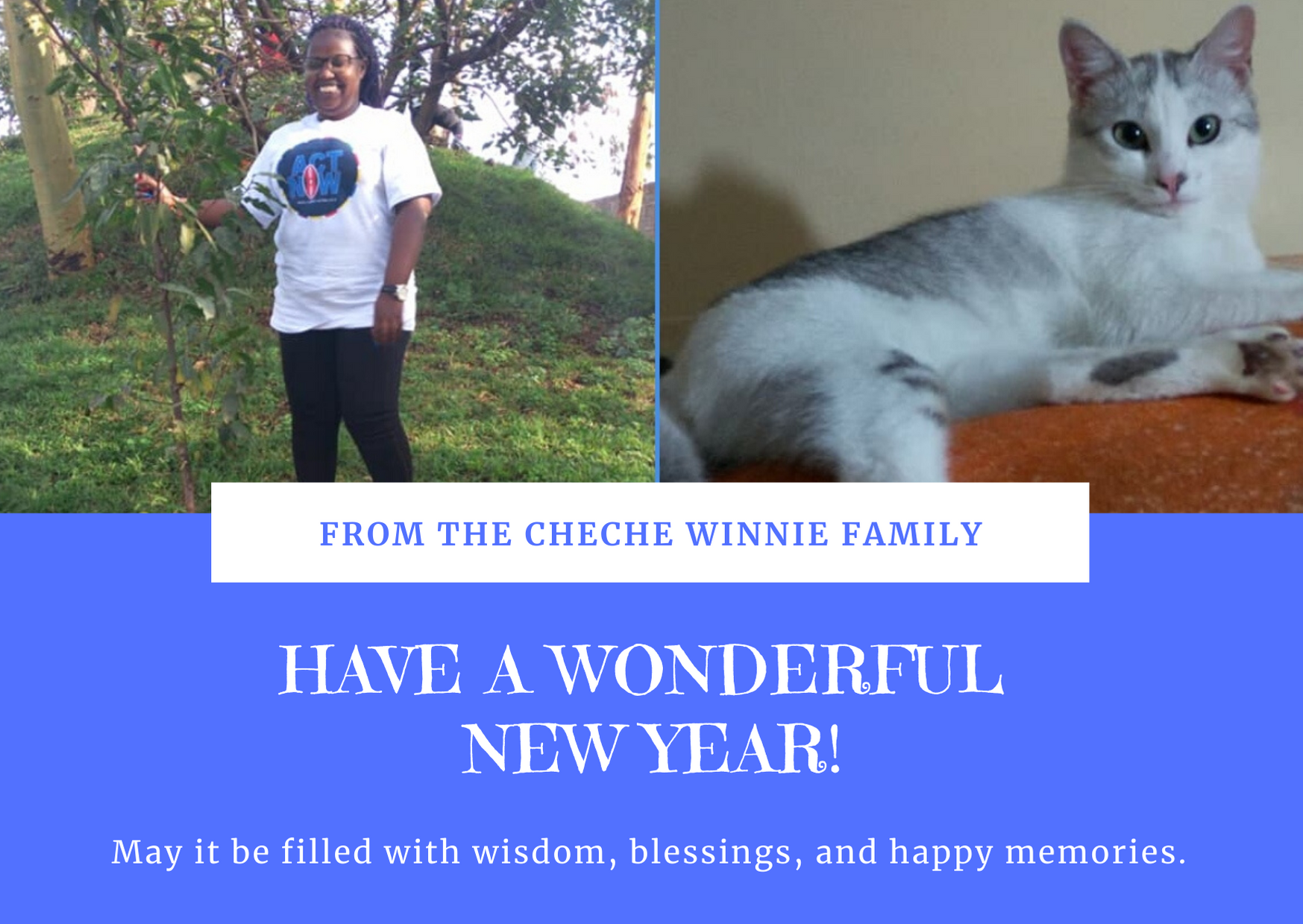 WE WISH YOU A HAPPY NEW YEAR